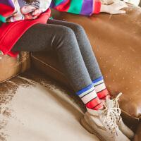 儿童保暖裤女加绒外穿女童秋冬款韩版休闲打底裤女孩洋气绒裤