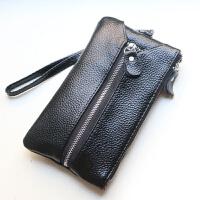 17韩版式真皮钥匙包女士零钱包手机包女款牛皮多功能小手包