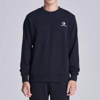 CONVERSE匡威男装卫衣2018新款星箭针织圆领运动套头衫10008927