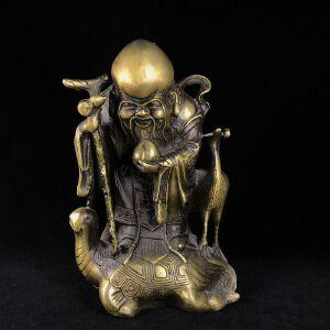 寿星 精品铜摆件