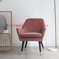 北欧单人沙发椅小户型现代简约休闲老虎椅卧室阳台懒人迷你小沙发