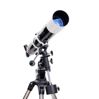 升级版星特朗DELUXE 80EQ 80/900入门折射式天文望远镜 不锈钢脚架摄影稳定镜 套餐十