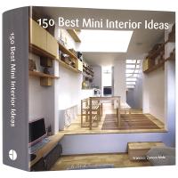 建筑装修设计书籍 150 Best Mini Interior Ideas 英文原版 150个迷你室内设计创意 全英文版
