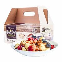 沃隆 每日坚果礼盒装 成人款750g 零食早餐
