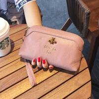 12新款手拿钱包女真皮新款时尚百搭气质手抓包韩版大容量女士小手包