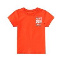 【2件3折到手价:38】小猪班纳童装男童短袖T恤2020夏季新款儿童圆领上衣卡通印花棉