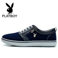 花花公子  男鞋新款板鞋男士鞋低帮休闲鞋子潮鞋男 德-CX37529