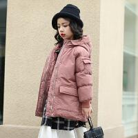 儿童冬装韩版棉袄女孩羽绒棉衣女童女洋气中长款