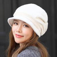 帽子女女士帽子贝雷帽保暖韩版休闲百搭鸭舌帽八角帽街头潮
