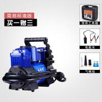 0377 双缸车载充气泵 便携式轮胎汽车打气泵 12v车用打气机新品