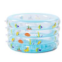 红兔子 4层圆形婴儿游泳池 宝宝游泳池 儿童游泳池 家庭戏水池