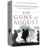 The Guns of August 英文原版书 八月炮火 普利策奖 塔奇曼 英文版原版 正版进口英语历史书籍 现货