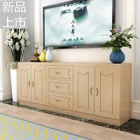 实木电视柜经济型现代简约客厅卧室中式松木储物柜多功能组合柜定制定制 组装