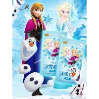正版冰雪奇�卡片�凵�公主玩具女孩�和�卡牌全套魔法祈心包收藏��