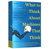 正版现货 如何思考会思考的机器 英文原版科普书 What to Think About Machines That T
