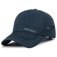 帽子夏季男士棒球帽运动户外遮阳太阳帽防晒网帽速干透气鸭舌帽潮