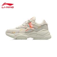李宁休闲鞋女鞋2020新款烛龙2020经典时尚低帮运动鞋AGCQ424
