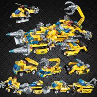 包邮兼容 乐高积木 儿童益智拼装玩具工程车幻影忍者 男孩子6-10-14岁