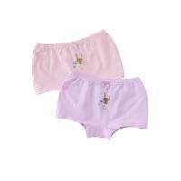 【99元3件】小猪班纳童装女童四角内裤平角裤儿童中大童内裤(两条装)