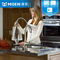 MOEN摩恩 厨房水槽厨盆全铜抽拉式防指纹冷热水龙头 MCL7594SRS