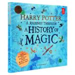 哈利波特魔法史之旅 英文原版书 Harry Potter A Journey Through A History of