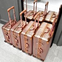 铝框拉杆箱硬壳行李箱万向轮男女26寸旅行箱密码箱学生箱包登机箱