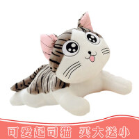 起司猫咪毛绒玩具女孩布娃娃公仔玩偶睡觉抱枕可爱床上生日礼物