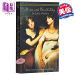 理智与情感 英文原版小说 英文版Sense and Sensibility简奥斯汀Jane Austen 进口英文原版