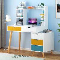 良木电脑桌宜家家居北欧简约电脑台式桌卧室书桌办公桌子旗舰家具