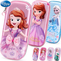 女童笔袋小学生迪士尼公主苏菲亚儿童文具盒韩国大容量笔盒铅笔袋