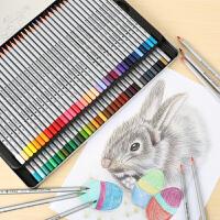 马可彩铅手绘72色油性彩色铅笔马克48画画套装成人美术用品专业绘画水溶性彩铅笔120色学生用彩笔初学者画笔
