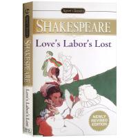 现货正版 爱的徒劳 英文原版 Love's Labor's Lost 莎士比亚经典戏剧集 Shakespeare 经典喜