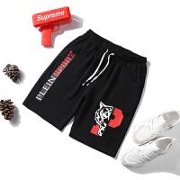 运动短裤男夏天五分裤大码运动裤七分沙滩休闲裤子中裤潮夏季薄款