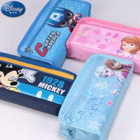 迪士尼女男小学生文具盒儿童文具笔袋笔盒简约笔袋学生奖品