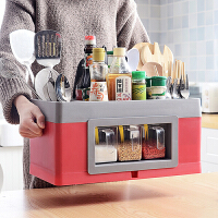 物有物语 厨房收纳 多功能用品调味料置物架调料架落地刀筷具收纳储物盒创意套装