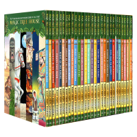 神奇树屋1-28册 英文原版 Magic Tree House1-28 新版套装 新封面礼盒装 分阶阅读巩固英语章节书