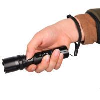 户外强光手电CREE三档模式 LED远射骑行铝合金手电 照明装备