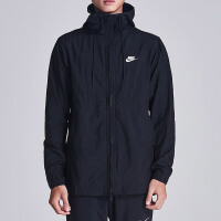 NIKE耐克男装外套2018秋季新款连帽拉链机织舒适运动夹克928858