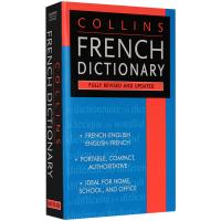 正版现货 法英双语字典辞典 英文原版书 Collins French Dictionary 柯林斯法语英语词典 英文版