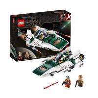 【当当自营】LEGO乐高积木星球大战电影天行者系列75248 7岁+抵抗组织A-翼星际战斗机