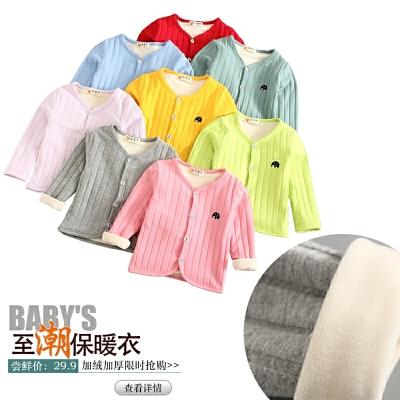 女童加绒加厚外套秋装保暖上衣儿童长袖圆领绒衣棉衣冬款上衣开衫 发货周期:一般在付款后2-90天左右发货,具体发货时间请以与客服协商的时间为准