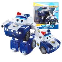 奥迪双钻超级飞侠玩具大号变形机器人全套装小飞侠玩具 大变形飞侠-贝警员