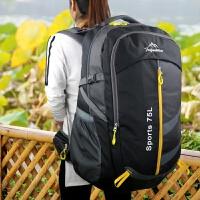 75L双肩包男女旅行包双肩旅游包超大容量加大运动背包户外登山包