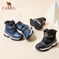 骆驼男童棉鞋儿童冬季加厚加绒冬鞋二棉鞋保暖小童冬天暖棉换季