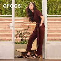 【秒杀价】Crocs卡骆驰2020春季新款布鲁克林女士厚底舒适时尚凉鞋|206453 布鲁克林女士厚底凉鞋