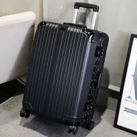 行李箱男拉杆箱铝框旅行箱包密码学生皮箱子万向轮韩版24寸28寸潮