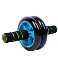 AD健腹轮 腹肌轮收瘦腰滚轮巨轮静音健身器材家用
