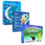 幼儿睡前故事绘本3本套装 The Going To Bed Book Papa, Please Get the Moo