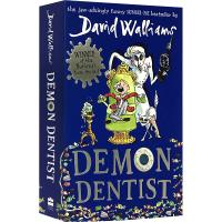 魔鬼牙医 大卫少年幽默小说系列 英文原版 Demon Dentist 罗尔德达尔继承人David Walliams 大卫