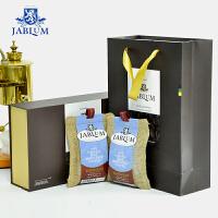 牙买加原装进口JABLUM蓝山咖啡豆57gX2袋=114g礼盒装